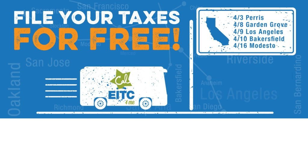 CalEITC4Me Bus Tour Arrives in Bakersfield!